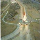 NASA Kennedy Space Center Shuttle Florida vintage postcard
