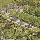 Biltmore House Garden Asheville North Carolina vintage postcard