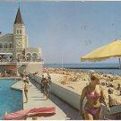 Lisbon Portugal  Estoril  Beach vintage postcard