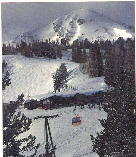 Park City Utah Ski postcard