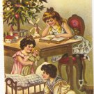 Merry Christmas repro Merrimack #4378 postcard