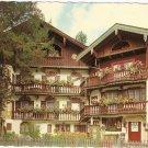 Tegernsee Wackersberger House Rosenstrasse Germany vintage postcard