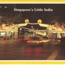Singapore Little India Serangoon Road Deepavali postcard