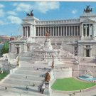 Roma Rome Italy Altar of the Nation vintage postcard