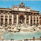 Roma Rome Italy Fountain of Trevi vintage postcard