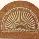 Verulamium Roman Mosaic 2nd century AD Scallop Shell vintage postcard