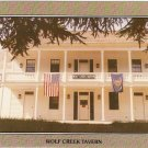 Wolf Creek Tavern Oregon Stagecoach Inn vintage postcard