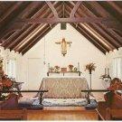Bethlehem Chapel St Mary Retreat House Santa Barbara California vintage postcard