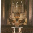 Grace Cathedral San Francisco CA Great Font Altar Apse vintage postcard