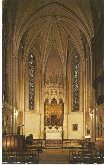 Grace Cathedral San Francisco CA Chapel of Grace vintage postcard