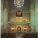 Grace Cathedral San Francisco CA Great Rose Window Gallery Organ vintage postcard