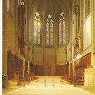 Grace Cathedral San Francisco CA Sanctuary High Altar vintage postcard