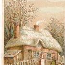 Dr Hartshorn Cough Balsam Trade Card cottage