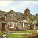 Old Post Office Tintagel Cornwall UK vintage postcard