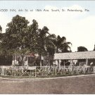 Wedgwood Inn St Petersburg Florida vintage postcard