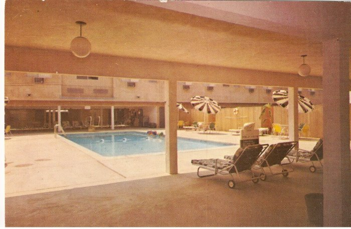 Hyatt House Hotel First Fly-In Hotel LAX Los Angeles California vintage postcard