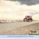 Summit Beartooth Hi-Way Montana vintage postcard