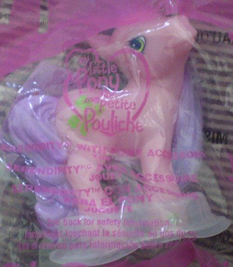 McDonald #2 My Little Pony Serendipity Pink 2005 New