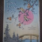 Ting Ling Toy Fox Trot Mary Earl Shapiro Bernstein 1919 sheet music