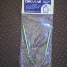 Circular Knitting Needles Boye Aluminum Points Size 8 29 inch
