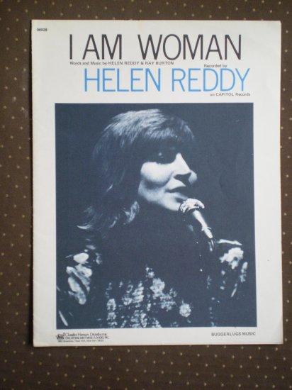 I Am Woman Helen Reddy 1972 Buggerlugs Sheet Music