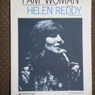 I Am Woman Helen Reddy 1972 Buggerlugs Sheet Music