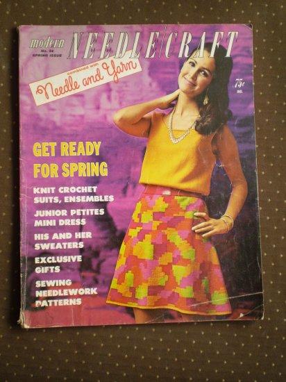 Modern Needlecraft No 54 Spring Issue 1968 Magazine