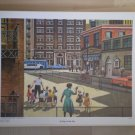 At Play in the City Providence Lithograph 1963 Seward print