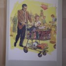 God Provides Food Providence Lithograph 1964 Caddell