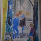 Moving Day Sunny Warner 1970 United Church Press Vintage Print