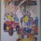 The Big Fire 1970 United Church Press Vintage Print Shirley Hirsch