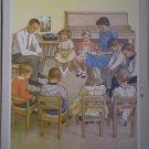 We Thank God Providence Lithograph 1963 Handsaker Print