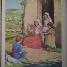 Working Together Providence Lithograph Vintage Love Print