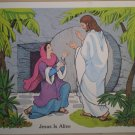 Jesus Is Alive Teaching Aid 8 1982 David C Cook Poster