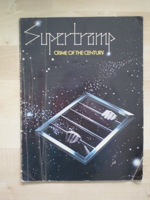 Supertramp Crime of the Century Songbook 1977 Almo sheet music