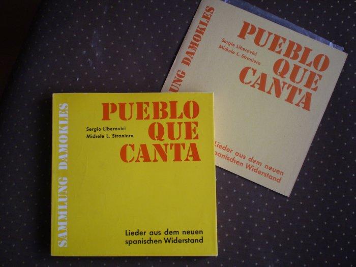 Pueblo Que Canta Sergio Liberovici Michele Straniero Damokles 1965 book record