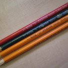 Avalon Royal Pencil Co Lot 4 Orange Lt Red Green 454 456 458