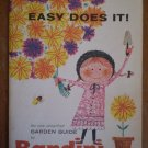 Easy Does It! Garden Guide by Bandini 1961 Book pamphlet