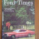 Ford Times October 1967 60th Year Lucille Ball New Torino