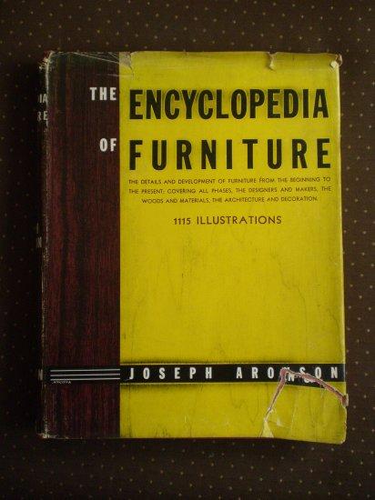 Encyclopedia of Furniture Joseph Aronson 18th 1961 Book