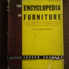Encyclopedia of Furniture Joseph Aronson 18th 1961 Book