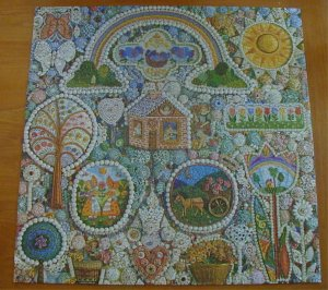 Springbok Jigsaw Puzzle Country Cottage PZL2080 Complete