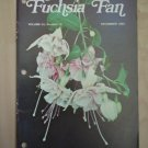 Fuchsia Fan Vol 45 #12 December 1985 Magazine
