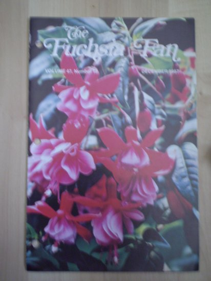 Fuchsia Fan Vol 47 #12 December 1987 Magazine
