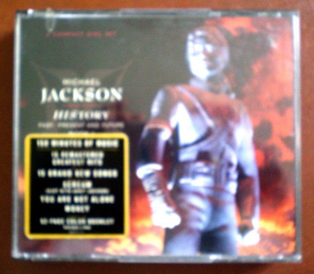 Michael Jackson History Past Present Future 2-CD Epic 1995