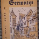 Pocket Guide to Germany PG-1 DA Pamphlet 20-179 1952