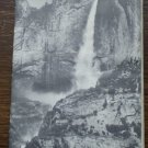 Yosemite National Park CA Booklet Map 1962 Travel Brochure