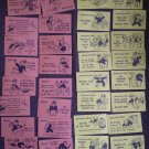 Monopoly Community Chest Chance Cards Lot 32 Set