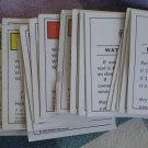 Monopoly Game 28 Property Title Deeds Complete 1985