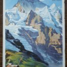 Kleine Scheidegg Switzerland Brochure Map Jungfraujoch